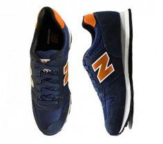 new balance 373 azul com laranja
