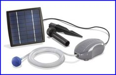 Teichbelüfter Solar Air S Sauerstoffpumpe Gartenteichbelüfter  101870