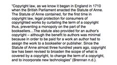 The Statute of Anne >>> the history of copyright #copyright #FMCS3100