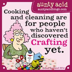 Are you an absolute glitter Queen? Do you just love to Craft? Follow our 'Aunty Acid's Crafty Club' board for some exciting news combining Aunty Acid's sass and your scissors. :) Join our mailing list for more info by emailing craftclub@auntyacid.com <3