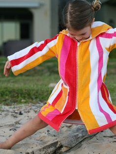 998761f3d84 ´Sunset´ Beach Robe Terry Rich Australia