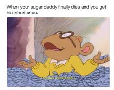 """This one where Arthur basically became the new Lana Del Rey sugar daddy meme: 