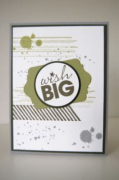 Stampin up Stamp sets: Gorgeous Grunge  Word Play