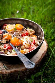 Insalata estiva di amaranto _ Amaranth summer salad