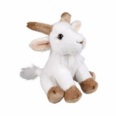 Pluche zittende geiten knuffeldier 15cm  Geiten knuffel gemaakt van pluche. Het formaat van dit geiten knuffeldier is 15 cm.  EUR 5.99  Meer informatie