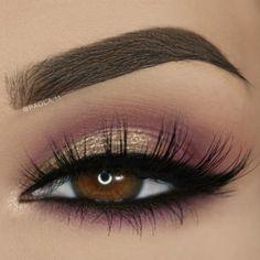 Smokey Eye Makeup Ideas for Deep Set Eyes picture2 #eyemakeupsmokey