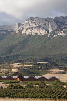 La Rioja, Spain. Santiago Calatrava