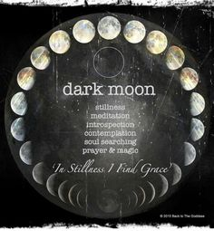 Dark Moon shared by WILD WOMAN SISTERHOOD™ #wildmoonwoman #wildwomansisterhood