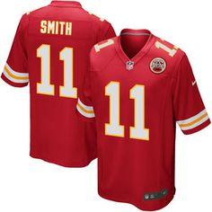 Kansas City Chiefs fan with this Nike Game Football jersey! You can boast your…