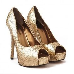 d8a798943a01  23.00 Odeon Ladies Gold Sparkle LS6299 Sequin Heels Gold Sparkly Shoes