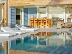 Outdoor Lounging and Kitchen at The Dream Villa, Barbados