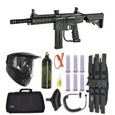 Spyder MR5 Paintball Marker Gun Magazine Fed 3Skull Sniper Set - Black. Available at Ultimate Paintball!!  http://www.ultimatepaintball.com/p-10303-spyder-mr5-paintball-marker-gun-magazine-fed-3skull-sniper-set-black.aspx