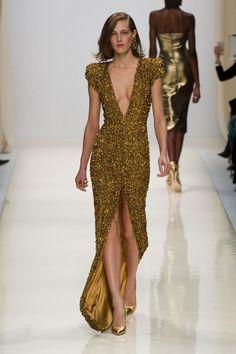 Valentin Yudashkin at Paris Fashion Week Spring 2014 - StyleBistro Valentin Yudashkin, Style Haute Couture, Couture Fashion, Runway Fashion, Paris Fashion, Gold Fashion, Fashion Week, High Fashion, Fashion Show