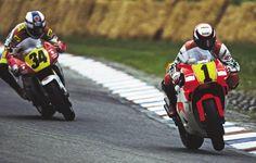 1991 Hockenheim Wayne Rainey Yamaha Kevin Schwantz Suzuki