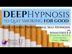 Stop Smoking in 30 Minutes with hypnosis? Train your mind to STOP smoking FOR GOOD. This powerful hypnotherapy audio session combines hypnos. Reasons To Quit Smoking, Quit Smoking Tips, Quit Now, I Quit, Hypnosis To Quit Smoking, Hypnosis Scripts, Nicotine Patch, Smoking Addiction, Stop Smoke
