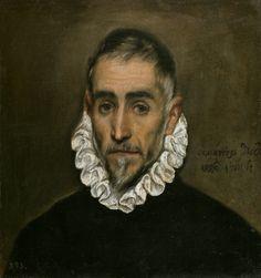Caballero anciano,1600. Museo del Prado, Madrid.