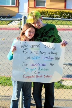 For more on Robbie and Jazzy's story, visit http://donatelife-organdonation.blogspot.com/