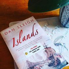 My current #read #islands by #dansleigh it's a pretty weighty tome but I'm looking forward to getting stuck in