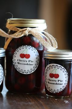 Crock Pot Cherry Pie Moonshine | 17 Big Batch Cocktails You Can Make In A Crock Pot
