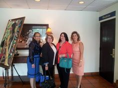 Florida National University attended the Doral Business Council's Women's Alliance Group 4th Annual Luncheon. The keynote speaker for the event was Ms. Donna Abood, Chairman and Founding Partner of Colliers International South Florida.  Left to right: Ms. Cardiad Hernandez, Ms. Barbara Rodriquez, Ms. Silvia Borges, and Ms. Ana Veloso, President/CEO Velocity Social Media. #fnu #fnuniversity