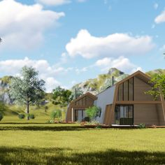 Ecokit a system that allows you to design and build energy efficient home you will love is part of Container house design - Shipping Container Home Designs, Container House Design, Small House Design, Container Homes, Tiny House Cabin, Small House Plans, Metal Building Homes, Building A House, Plan Chalet
