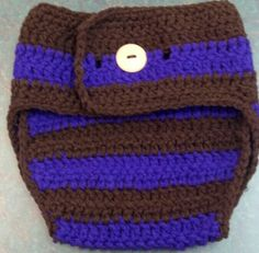 Crocheted diaper cover. $8 can be made in any color. Size 3-6 months