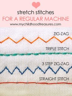 Did you know you can sew stretch fabric with your regular machine. Here is all the tricks and tips you need.