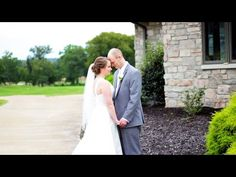 St. Louis Wedding Videography - Rob and Frankie Wedding Highlight Video - Fox Run Country Club Outdoor ceremony, Indoor reception, golf course, over looking lakes, park setting, dj, special first dance, uplighting, first look captured