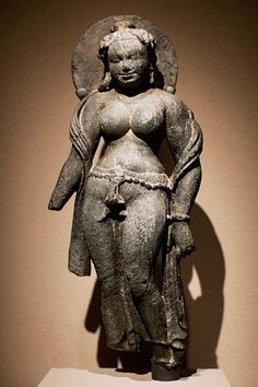 Beauty in Art: The Female Form - This figure from Rajasthan, India, with her rich curves and large round breasts, represents one of seven goddesses considered both alluringly beautiful and dangerous.