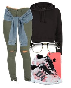 """#schoolfit"" by eazybreezy305 on Polyvore featuring adidas Originals, River Island, schoolflow, schoolstyle and bts"