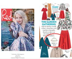 Our Lunula Hair Bun was featured in Red Magazine Line Design, Spring Dresses, Bun Hairstyles, Hair Pins, Magazine, Chic, News, How To Make, Beautiful