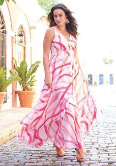 Plus Size Flyaway Maxi Dress | Plus Size Maxi Dresses | Jessica London