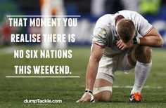 this weekend no six nation #rugby #humor
