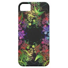 New Design...pictured is the iPhone 5 Case - Colorful Kaleidoscope Design Fractal Art Gifts iPhone 5 Cases
