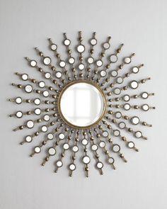 Kimani Starburst Mirror on Wanelo