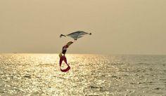 Cherai Beach is one of the popular beaches around Kochi. #India