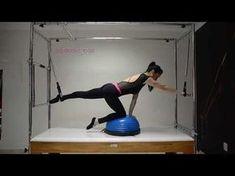 Pilates - Vencendo sua instabilidade com Meia Bola Bosu + Cadillac e04ba49842181