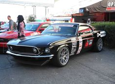 Hal Baer's '69 Mustang Mach 1 has been owned by Hal since 1973 and features a custom 3-link rear suspension, Baer Brakes, and is one of the first pro-touring machines to run a true one piece forged monoblock wheel. His Forgeline GA1R wheels are 18-inch in the front, 19-inch in the rear, and finished in the Silver powder coat. See more at: http://www.forgeline.com/customer_gallery_view.php?cvk=1222  #Forgeline #forged #monoblockj #GA1R #notjustanotherprettywheel #madeinUSA #Ford #Mustang