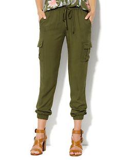 Cargo Soft Pant  - New York