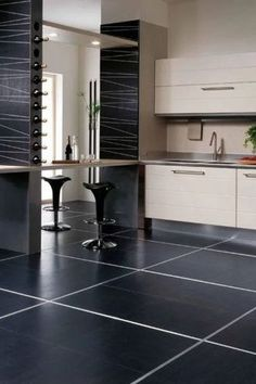 We are wild about black tiled walls for the kitchen. Black tile in kitchens can be sleek and modern or warm and rustic. Black tile in the kitchen is anything but boring. Keep reading as we share The ultimate guide to using black tile in your kitchen. Hadley Court Interior Design Blog by Central Texas Interior Designer, Leslie Hendrix Wood.