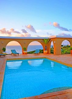 Sunrise at Dreamscape. For more about #StCroix #vacationrentals go to: http://villamargarita.com/st-croix-vacation-rentals/ #villamargarita #USVirginIslands  #USVI #dreamhomes #STX #caribbean #USVIproperty #stx #virginislands #beachfronthomes #villas #stcroixbeaches #travel #holiday