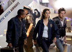 "CSI: NY - Season ""Turbulence"" - Hill Harper as Dr. Sheldon Hawkes, Melina Kanakaredes as Stella, AJ Buckley as Adam Ross Hill Harper, New York Wallpaper, New York Photos, Red Carpet Event, Tv Guide, Cool Watches, Yorkie, Tv Shows, Cinema"