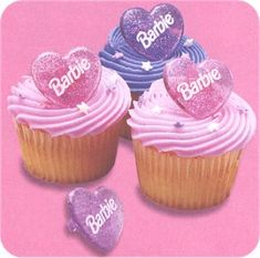 Barbie Cupcakes!