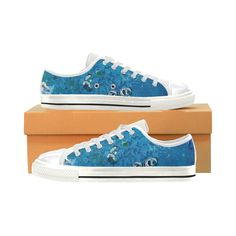 Environmental Blue shoes Art on shoes? On high tops and low top sneakers and heel and flats? A perfect gift by @anoellejay @artsadd Holiday gifting solved!