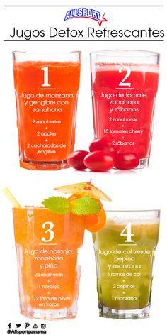 ¿Sabias que la licuadora para preparar jugos Detox sólo se emplea en pulpa de frutas como: melón , papaya, mango, sandía. Si los jugos resultan muy espesos o concentrados se le puede agregar agua solamente.  Las mezclas de jugos deben administrarse únicamente por dos días y en las cantidades recomendadas. Más de dos días los jugos ya no desintoxican, es un alimento más.  En @allsportpnama te deseamos muy buen provecho, sigue tus motivaciones
