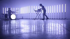 'REFLECTIONS' is a live performance by Takami Nakamoto and Sebastien Benoits. Stage Design by NONOTAK