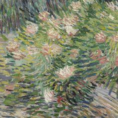 Grass and Butterflies (detail) by Vincent van Gogh