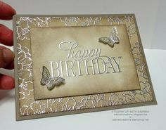 Stampin' Up With Sabrina: Introducing Tip Top Taupe and two new hostess sets - Happy Birthday Everyone & Best Thoughts. Details in the post.