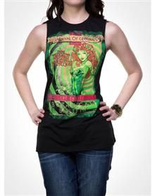 Poison Ivy Botanical Junior Fitted Muscle Tank