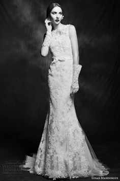 lusan mandongus wedding dresses 2015 sleeveless gown style lm2849b